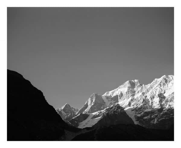 Kedarnath Mountain fine art print, Uttarakhand, India