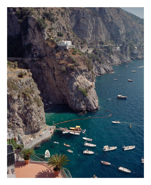 Marina di Praia, Amalfi coast, Italy.