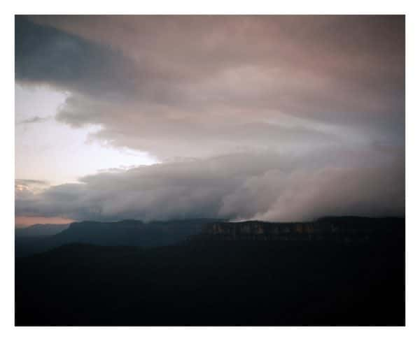 Skyscape #1 Blue Mountains fine art print by Damien Milan.